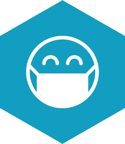 Masks and Transmission prevention icon